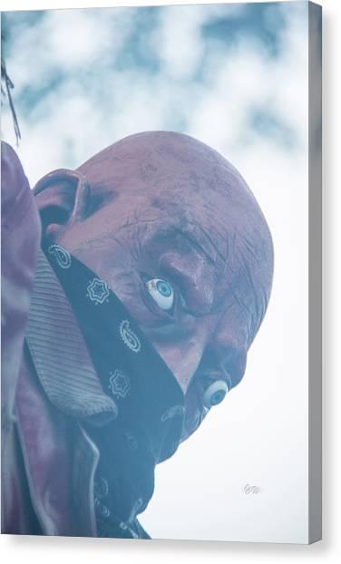 Spooky Bandit Canvas Print