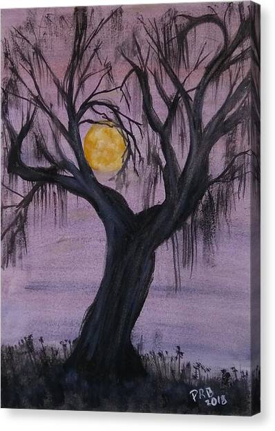 Canvas Print - Spooky by Pamula Reeves-Barker