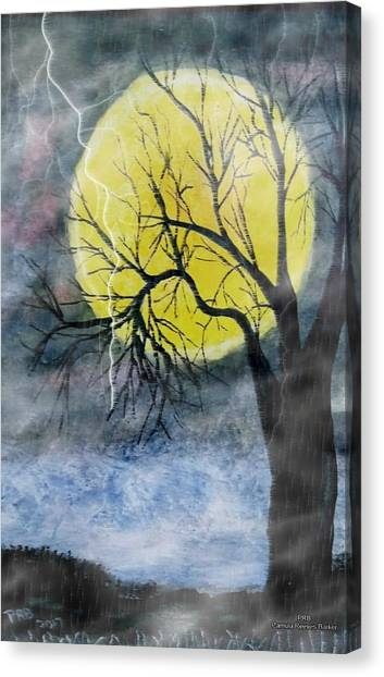 Canvas Print - Spooky Storm by Pamula Reeves-Barker