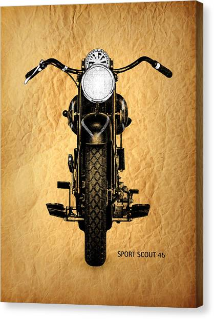Scouting Canvas Print - Sport Scout 45 by Mark Rogan
