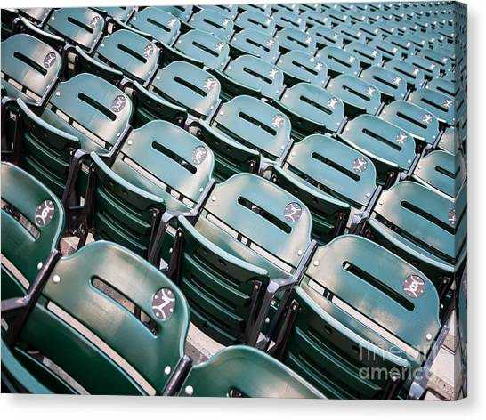 Chicago White Sox Canvas Print - Sports Stadium Seats Photo by Paul Velgos