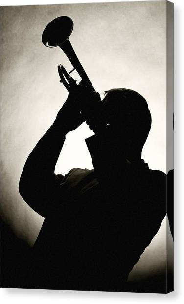 Spotlight Performer Canvas Print