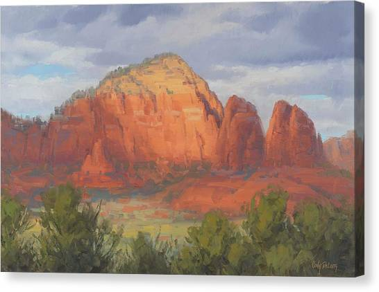 Red Rock Canvas Print - Spotlight Sedona by Cody DeLong