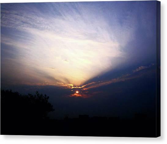 Spotlight Sunrise Canvas Print