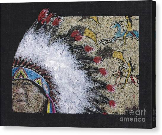 Spotted Eagle Canvas Print