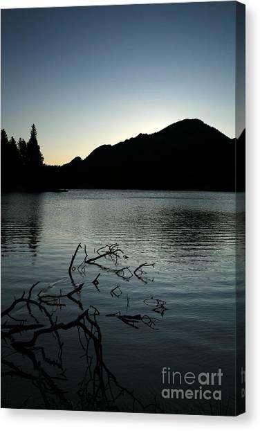 Sprague Lake Dawn Canvas Print by Timothy Johnson