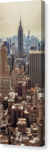 Pic Canvas Print - Sprawling Urban Jungle by Az Jackson