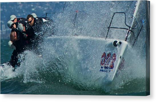 Spray - Melges 32 Canvas Print