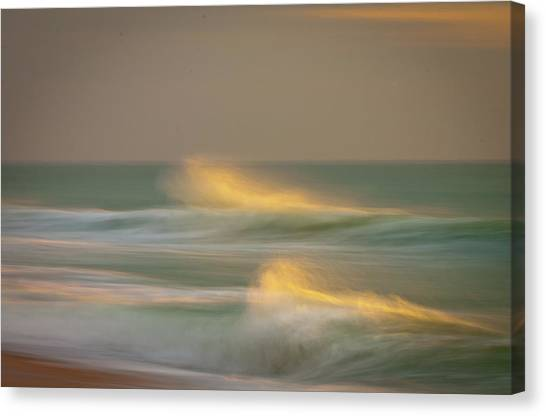 Spray Canvas Print
