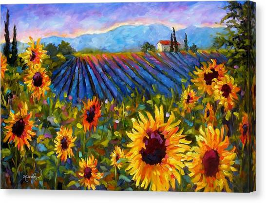 Spread A Little Sunshine Canvas Print