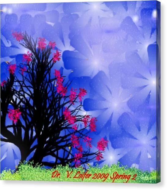 Spring 2 Canvas Print by Dr Loifer Vladimir