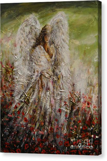 Spring Angel Canvas Print