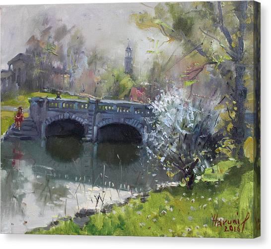 Delaware Canvas Print - Spring At Delaware Lake Buffalo by Ylli Haruni