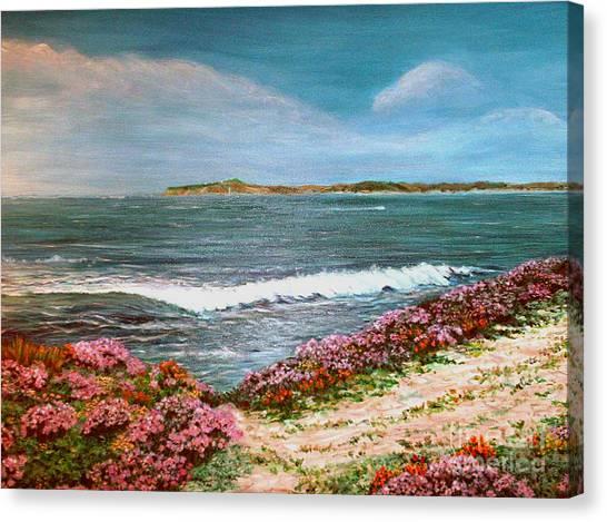 Spring At Half Moon Bay Canvas Print