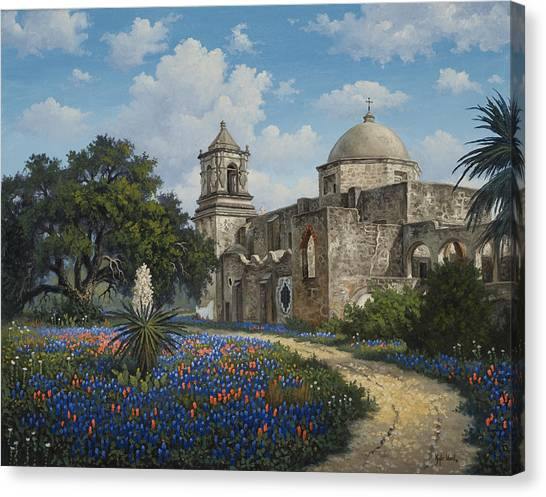 Spring At San Jose Canvas Print