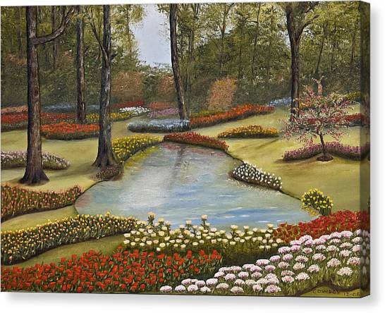 Spring Blooms Canvas Print by Darren Yarborough