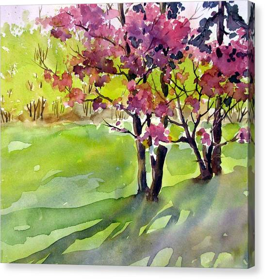 Spring Blossoms Canvas Print by Chito Gonzaga