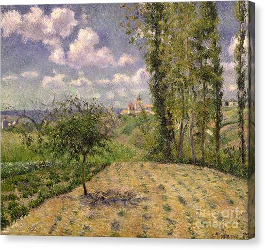 Camille Canvas Print - Spring by Camille Pissarro