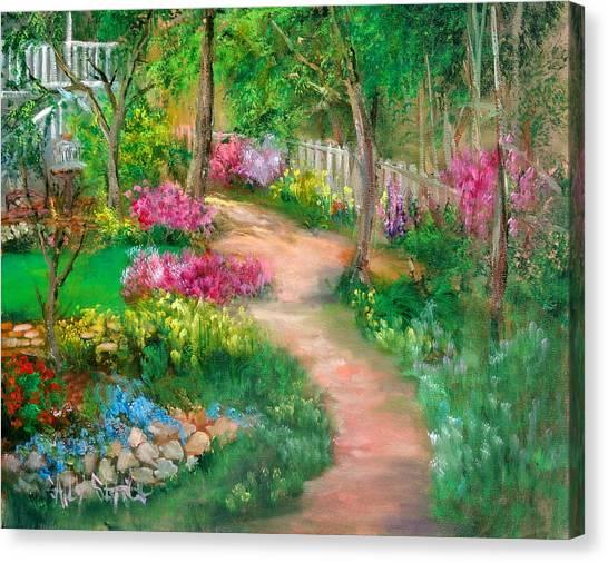 Spring Daze Canvas Print by Sally Seago
