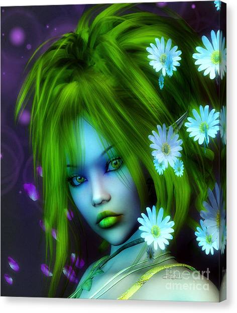 Spring Elf Canvas Print