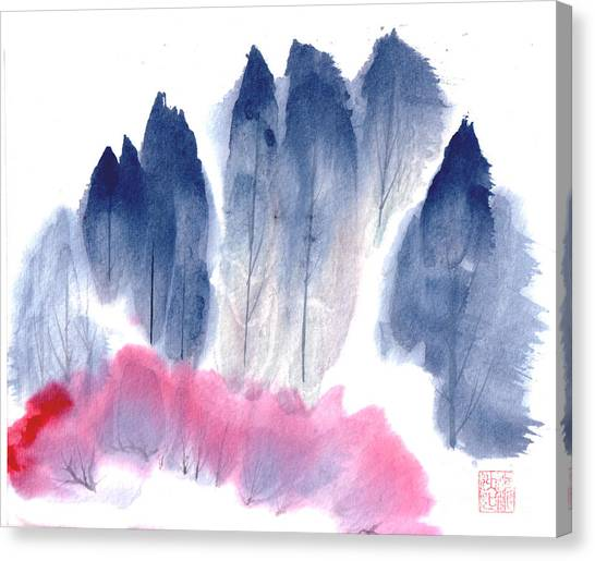 Spring Forest Canvas Print by Mui-Joo Wee