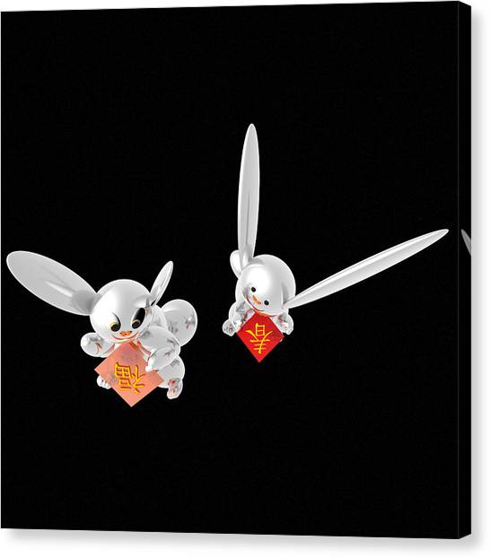 Spring Has Come Happiness Has Come 05 Canvas Print by Taketo Takahashi