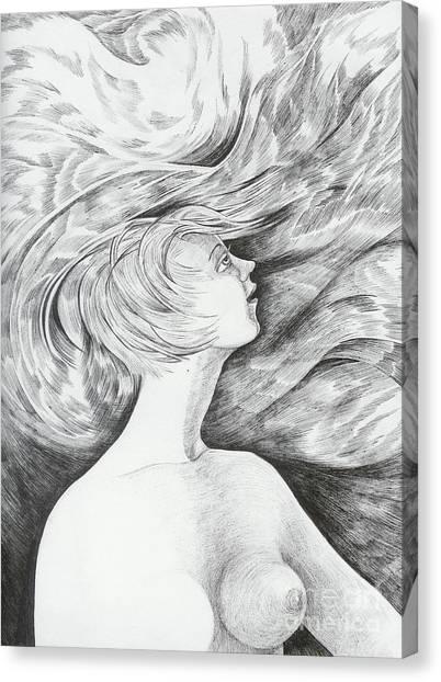 Spring I Canvas Print by Anna  Duyunova