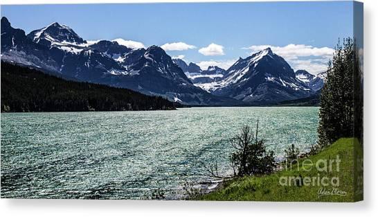 Many Glacier Canvas Print