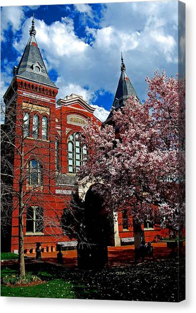 Spring In Washington Dc Canvas Print