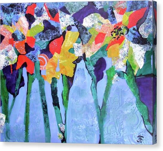 Canvas Print - Spring Is Sprung by Jane Ferguson