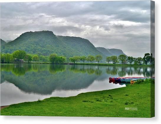 Spring Lake Canvas Print