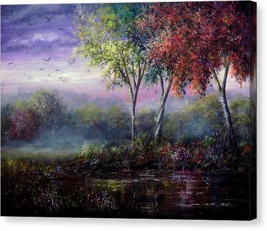 Spring Magic Canvas Print by Ann Marie Bone