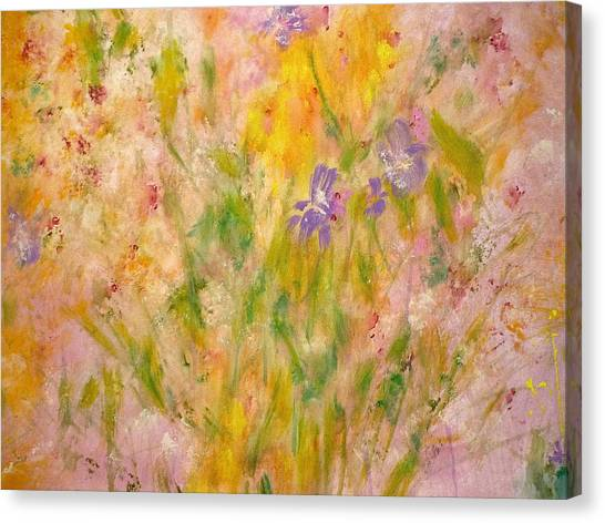 Spring Meadow Canvas Print