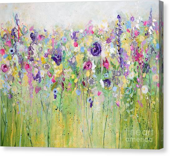 Spring Meadow I Canvas Print