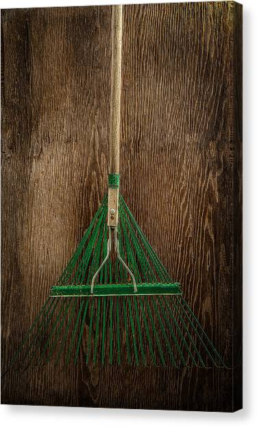 Contractors Canvas Print - Tools On Wood 10 by Yo Pedro