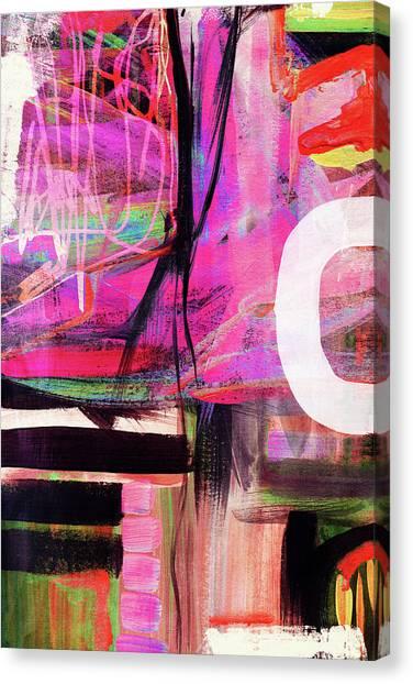 Canvas Print - Spring Rhapsody- Art By Linda Woods by Linda Woods