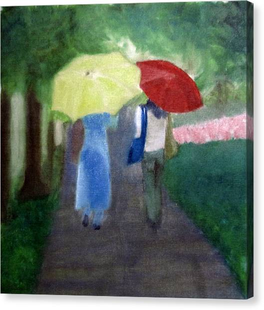 Spring Series Iv Canvas Print by Patricia Cleasby