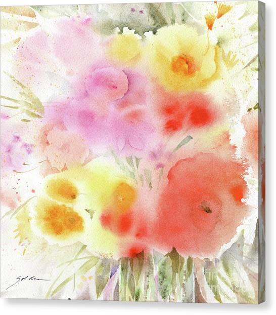 Sheila Golden Canvas Prints