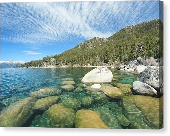 Canvas Print featuring the photograph Spring Shores  by Sean Sarsfield