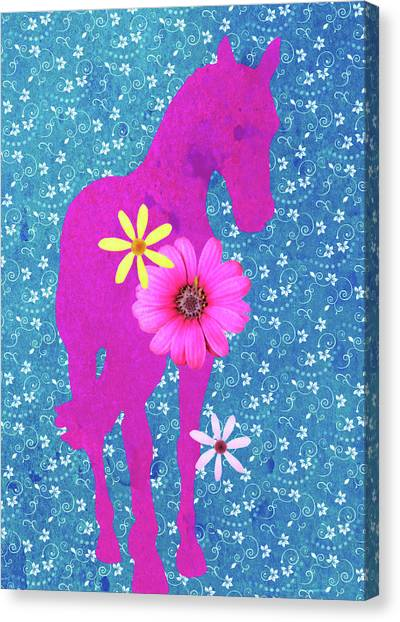 Spring Shoulder-in  Canvas Print by JAMART Photography