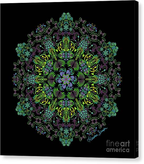 Spring Spiral Canvas Print