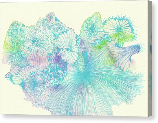 Spring - #ss18dw008 Canvas Print by Satomi Sugimoto