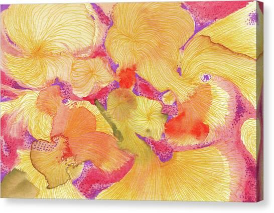 Spring - #ss18dw009 Canvas Print by Satomi Sugimoto