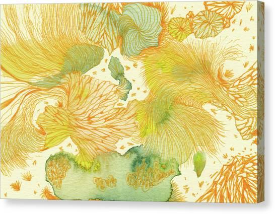 Spring - #ss18dw014 Canvas Print by Satomi Sugimoto