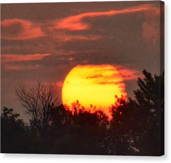 Spring Sunrise In Kentucky Canvas Print