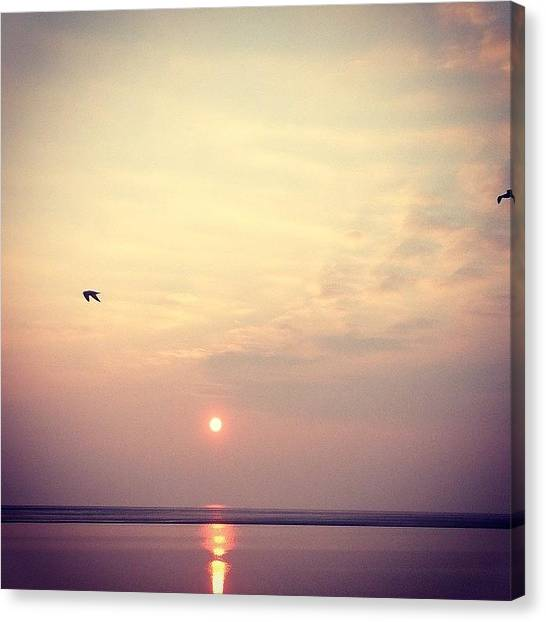 Kirby Canvas Print - #spring #sunset #westkirby by Helen Smith