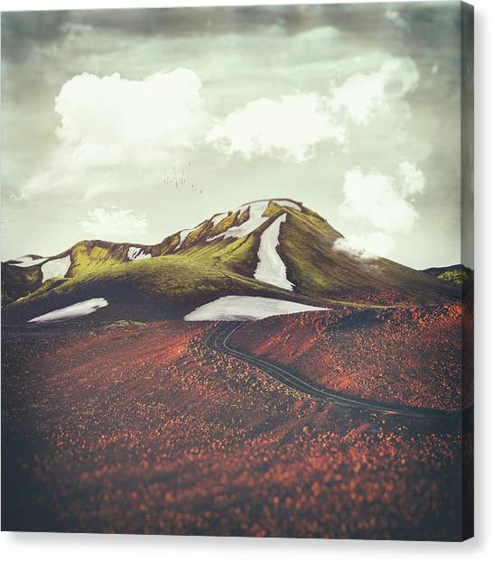 Landscape Canvas Print - Spring Thaw by Katherine Smit