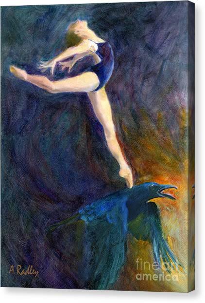 Spring To Heaven Canvas Print by Ann Radley