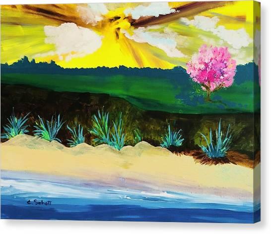 Spring Trip In Delaware Canvas Print