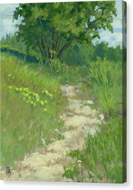 Spring Walk Canvas Print